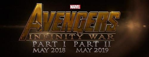Avengers Infinity War movie logo and release dates