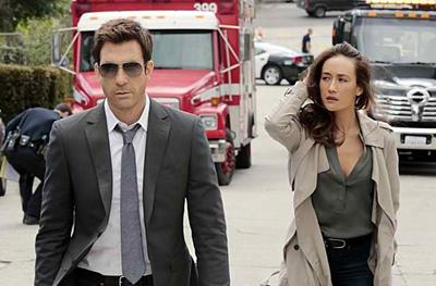 Dylan McDermott and Maggie Q in Stalker, a review