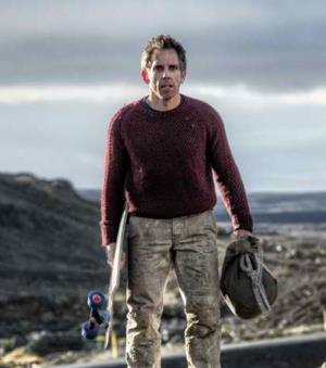 Ben Stiller in The Secret Life of Walter Mitty, a review