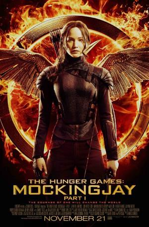THE HUNGER GAMES MOCKINGJAY promo art