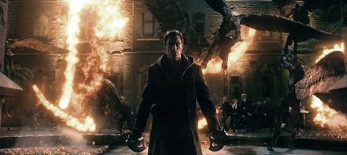 Aaron Eckhart in I, Frankenstein, a review