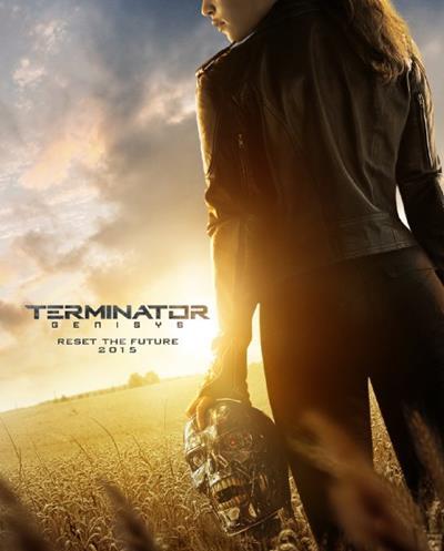 Terminator Genisys promo art