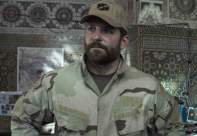 Bradley Cooper in American Sniper, a review