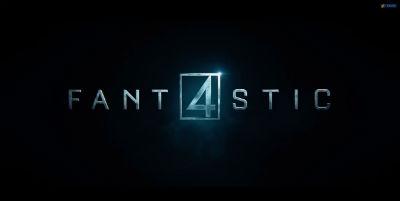 Fantastic Four movie logo image
