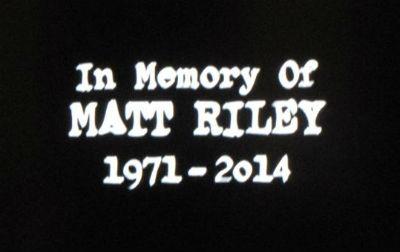 Matt Riley in memory of, SUPERNATURAL