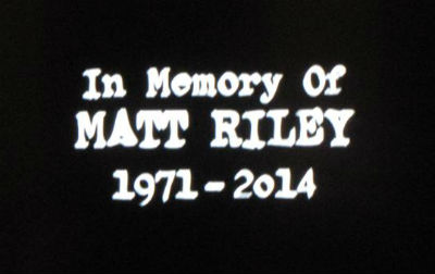 Matt Riley in memory of, SUPERNATURAL