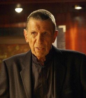 Leonard Nimoy, passed away. (scene from Fringe)