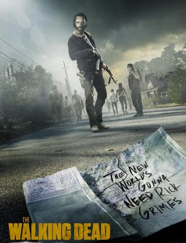 The Walking Dead promo art and review