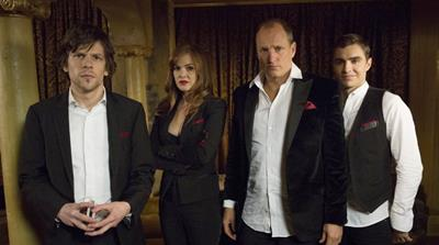 Woody Harrelson, Jesse Eisenberg, Isla Fisher and Dave Franco in Now You See Me