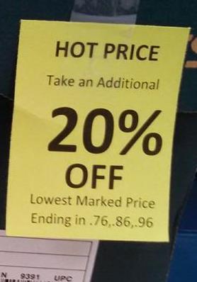 Big Five Price Tag Redirect - sale