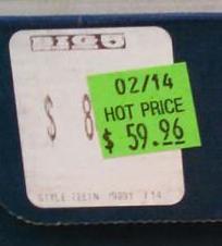 Big Five Price Tag Redirect - tag
