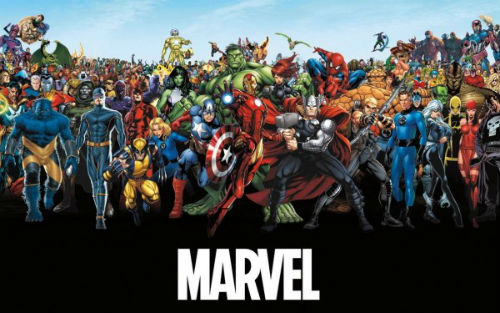 2013 Marvel Character Roster