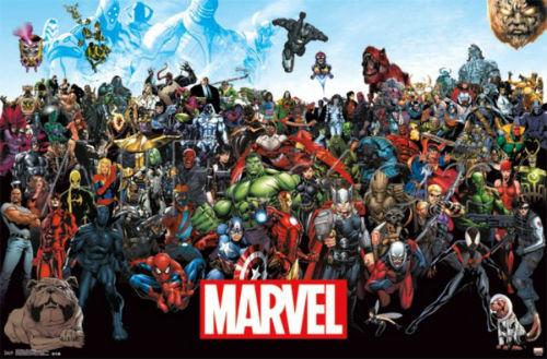 2015 Marvel Character Roster
