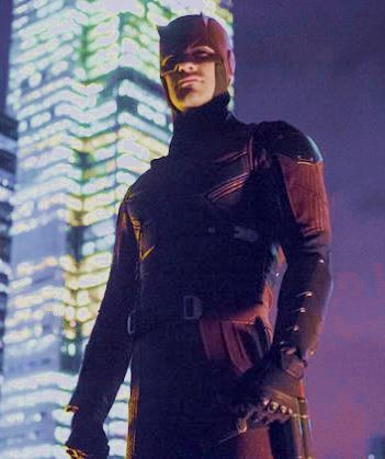 Daredevil, played by Charlie Cox