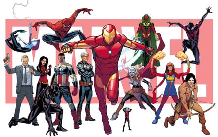The New Marvel Universe