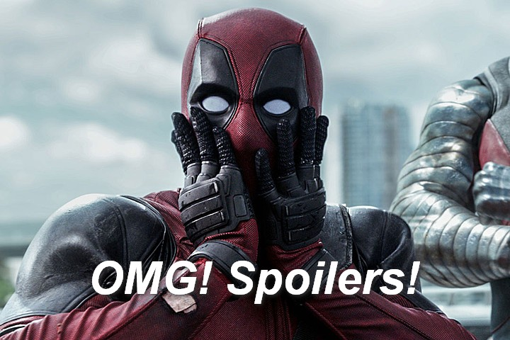 Deadpool's Warning About Spoilers