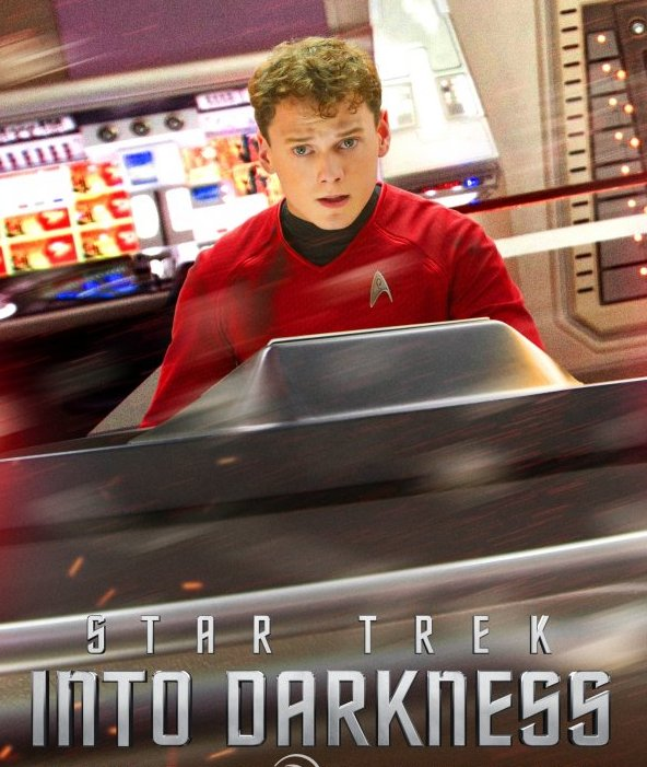 Anton Yelchin in Star Trek Into Darkness