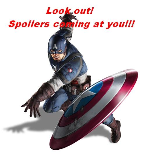 Catpain America Civil War Spoilers