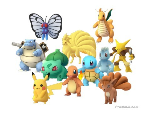 Pokemon Evolution lists, alphabetically listed