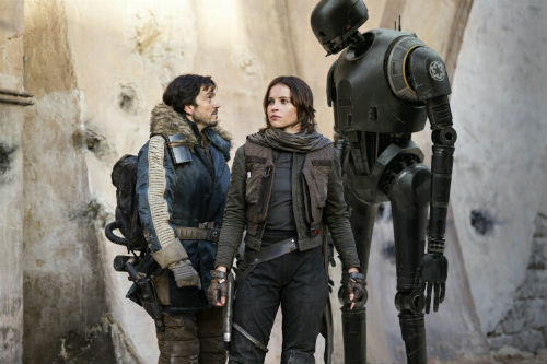 movie review, a Rogue One scene