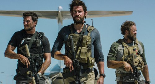 David Denman, John Krasinski, Pablo Schreiber in 13 Hours Review