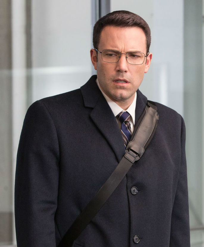 Ben Affleck in THE ACCOUNTANT, a Review