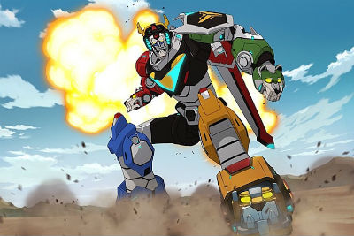 Voltron review s2 Netflix