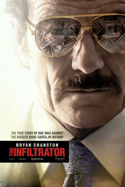 The Infiltrator Review with Bryan Cranston